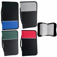 NEW 128 DVD/CD Case Wallet DISC Holder Fabric Folder Wallet Storage Carry Case
