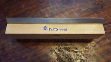 Sysco Pizza Oven Brush w/ Brass Bristles & Metal Scraper