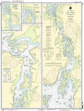 Noaa Chart Keku Strait - Monte Carlo Island to Entrance Island 12th Edition
