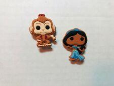 Aladdin Princess Jasmine & Abu Shoe Charm Set