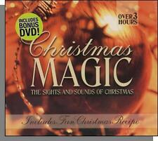 Christmas Magic - Music CD + A Christmas Without Snow DVD and More! New, Sealed!