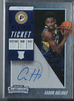 AARON HOLIDAY 2018-19 PANINI CONTENDERS PLAYOFF TICKET AUTO AUTOGRAPH RC /35
