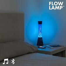 Lampe à lave bleus en verre pour la maison