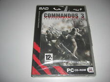 COMMANDOS 3 - Destination Berlin Pc Cd Rom MAD - NEW SEALED - FAST DISPATCH