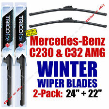 WINTER Wipers 2pk fit 2002-2003 Mercedes-Benz C230 C32 AMG 35240/220