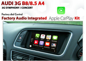 Audi A4 B8 / B8.5 3G Symphony Concert Apple CarPlay Integration