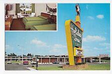 Smithfield NC Holiday Inn I-95 and US Hwy 70A Vintage Car Postcard