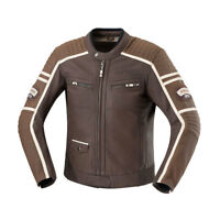 iXS Curtis Leather Motorcycle Jacket With Armor Brown Men's
