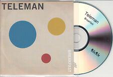 TELEMAN Breakfast UK 10-trk numbered promo test CD