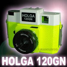 HOLGA 120GN 120 GN Medium Format Film Glass Lens Toy Camera LOMO 6x6 Night Glow