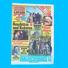 S und T 3/1983   Magdeburg Rügen   DDR-Zeitschrift GST NVA Sport Technik V