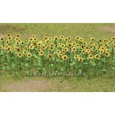"JTT Scenery Sunflowers O-Scale 2"" 16/pk 95524"