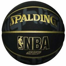 SPALDING JAPAN Basketball GOLD HIGHLIGHT Size:7 Black Gold