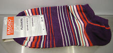 CALZA PARISCARPA DONNA SOCKS RAGNO ART.09087P T.36-40 COL.VIOLA RIGHE STRIPED