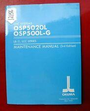 Okuma Lb-Ii, Lcc Series Maint. Manual Pub.3530-E-R2 (Inv.12156)