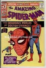 Amazing SPIDER-MAN #2, Annual, FN+, Dr Strange, Steve Ditko, 1965, Doctor Doom
