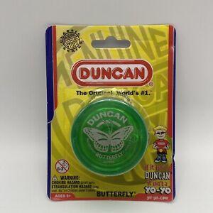 Genuine Duncan Classic Series The Original Green Butterfly Yo-Yo NIP READ A7