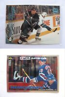 1995-96 Collector's Choice #283 Nemchinov Sergei PLATINUM player's club  rangers