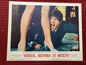 """""""Quick, Before It Melts"""" Original Movie Lobby Card 2 65/5 1965 MGM 11x14"""