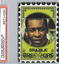 1972PELE - BRASIL Voetbalsterren Vanderhout DUTCH VERSION