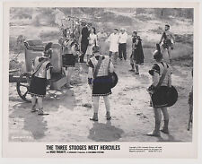 THE THREE STOOGES MEET HERCULES ORIGINAL 1961 8X10