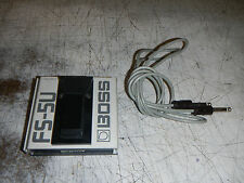BOSS FS-5U PEDAL FOOT SWITCH MODEL FS5U FOOTSWITCH