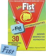 30 Pieces Mr Fist Repellent Tablets Electric Mosquito Eliminates Gnats midges