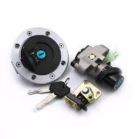 Ignition Switch Lock & Fuel Gas Cap Key Set Fit For Suzuki GSX750 GSX600 1989-97