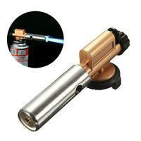 Flame Gun Lighter Jet Torch Butane Gas Blow Burner Welding Solder BBQ Camping V1