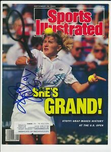 Steffi Graf Tennis Autograph Sports Illustrated Cover*1203