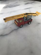 VINTAGE 1960s CORGI TOYS JEEP FC-150 W/ CONVEYOR RED YELLOW DIECAST TRUCK