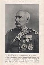 1897 antiguo militar impresión mayor-general Sir Charles Wilson K.C.B., k.c.m.g.