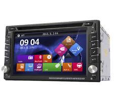 2 DIN 6.20Inch DVD/CD Player Bluetooth HD Stereo Radio iPod GPS Navigation