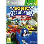 Sonic & SEGA All-Stars Racing Driving Kids Game For Xbox 360 X360 NEW