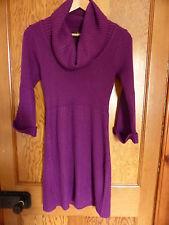 Ladies NWOT GEORGE AT ASDA Purple Long Jumper - Size 8