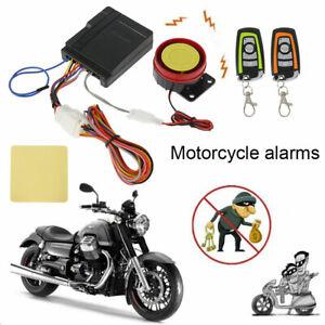 Moto scooter système d'alarme de démarrage avec 2 émetteur antivol de moto