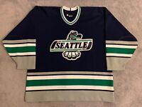 Seattle Thunderbirds Authentic CCM Hockey Game Jersey (Patrick Marleau Style)