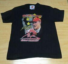 Michael Schumacher Kinder T-Shirt Größe Junior XS Fan- Artikel Ferrari Formel 1