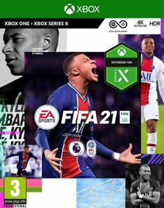 New XBOX ONE / SERIES X Fifa 21 Game
