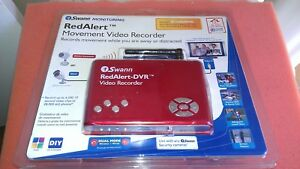 Swann Red Alert NIB DVR SW242-WDV Security Video Recorder  & Color out of Box