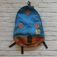Vintage Alpine Products Teardrop Leather Backpack Hiking Day Pack 60s 70s