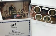 United States 2010 Presidential 1$ dollar proof coins set USA United States KMS