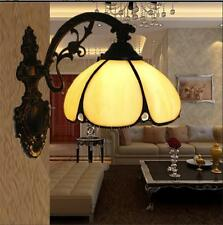 Tiffany Wall Lamp Stained Glass Shade Wall Sconce Bathroom Mirror Wall Light