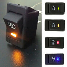 1Pc LED On/Off Indicator Rocker Toggle Switch Driving Fog Lamp/Work Light Bar