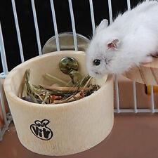 BL_ EB_ Kawaii Pet Hamster Squirrel Rabbit Feeder Hanging Water Food Bowl Cage D