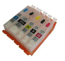 5 Refill Refillable EDIBLE INK Cartridge to replace Canon Pixma PG PGI550 CLI551