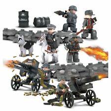 6 Soldats Allemands WW2 seconde guerre mondiale + armes et équipement