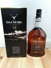 The Dalmore 12 Jahre Single Highland Malt Scotch Whisky1 Liter 40% mit Karton
