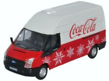 OXFORD DIECAST 76FT030CC, FORD TRANSIT VAN, COCA-COLA, 1/76 SCALE