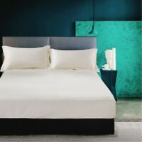 Hotel Luxury 1 Piece fitted  Sheets Set Microfiber   Sheets